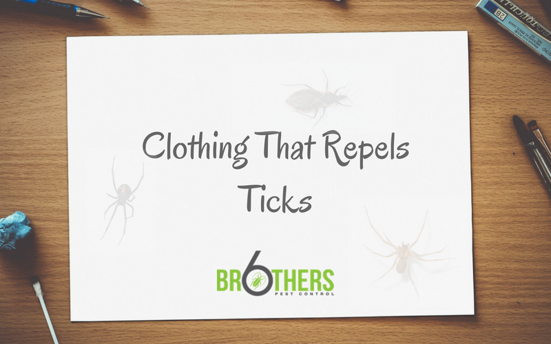 Clothing That Repels Ticks